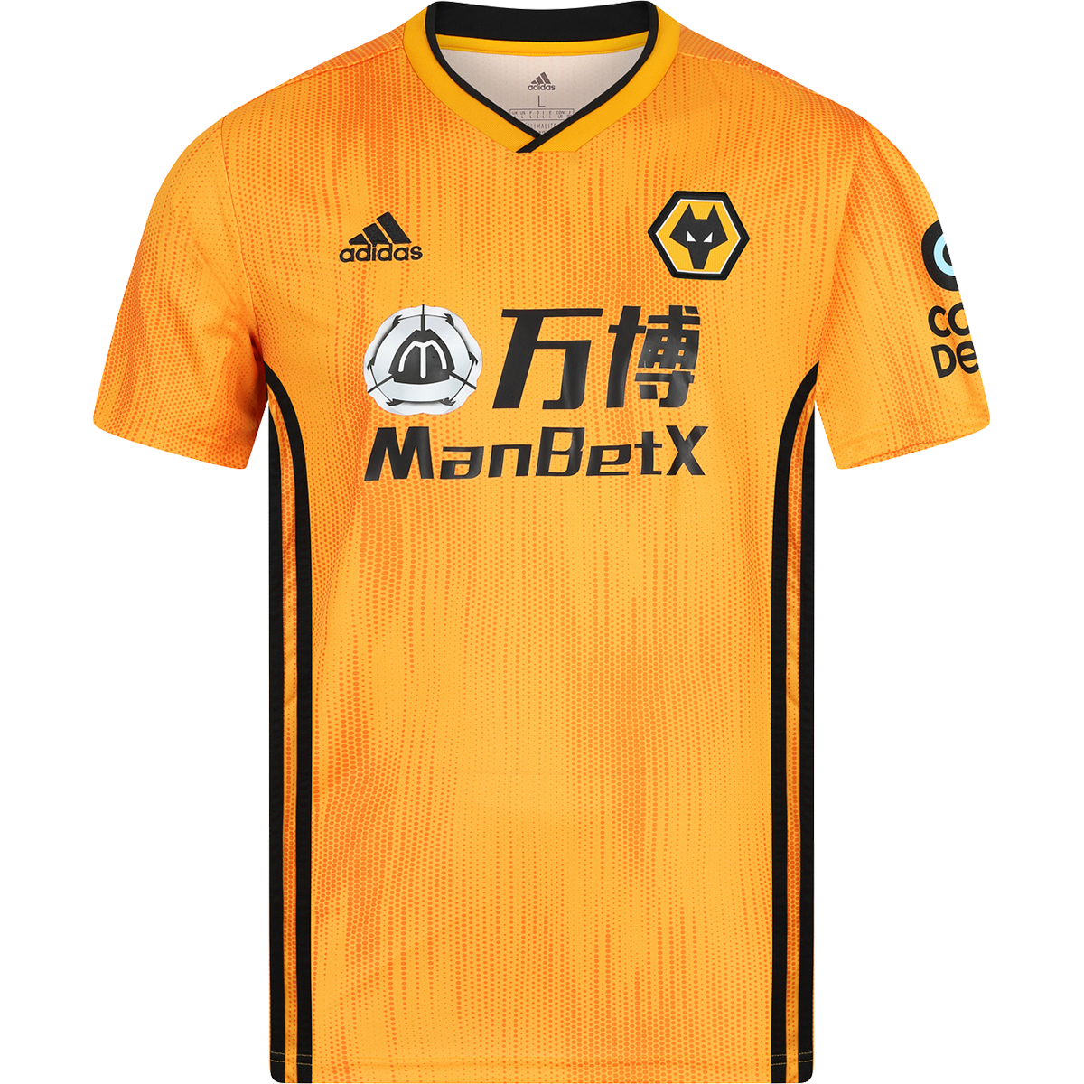 Adidas Wolverhampton Wanderers Home Jersey 19 20 M Home T Shirts Soccer Jersey Shirts