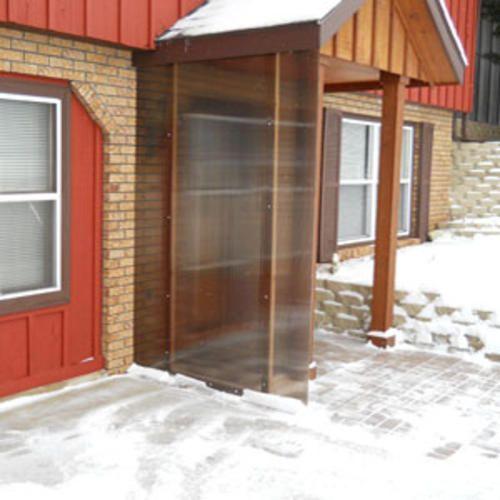 6mm Bronze 4 39 X 8 39 Twin Wall Polycarbonate At Menards Wind Break Carport Designs Shed Floor Plans