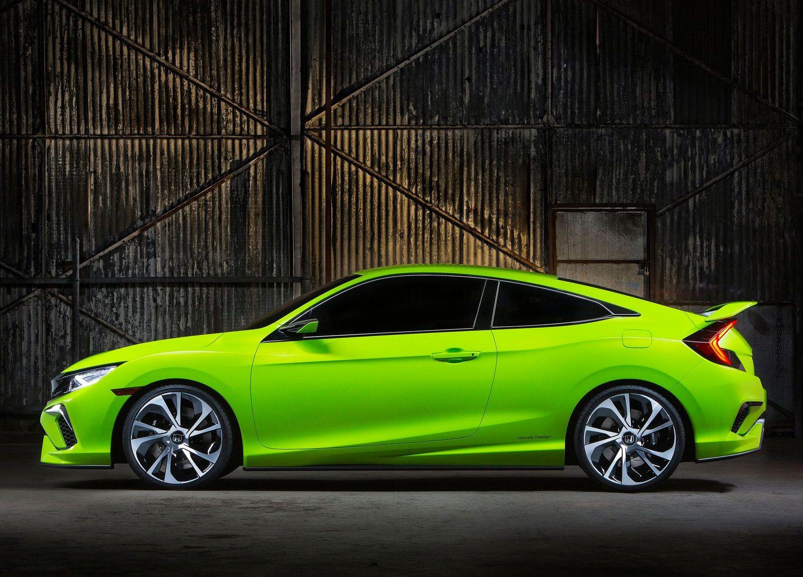 New York 2015 Honda Civic Concept (avec images) Honda