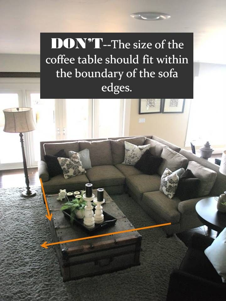 How to Style a Sectional Sofa : rug under sectional - Sectionals, Sofas & Couches