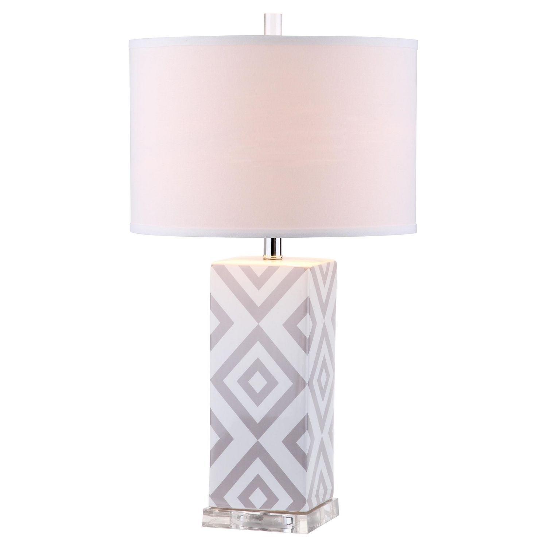 Tischleuchte Quatro Iii 2er Set Lampentisch Weisse Tischlampe Design Lampen