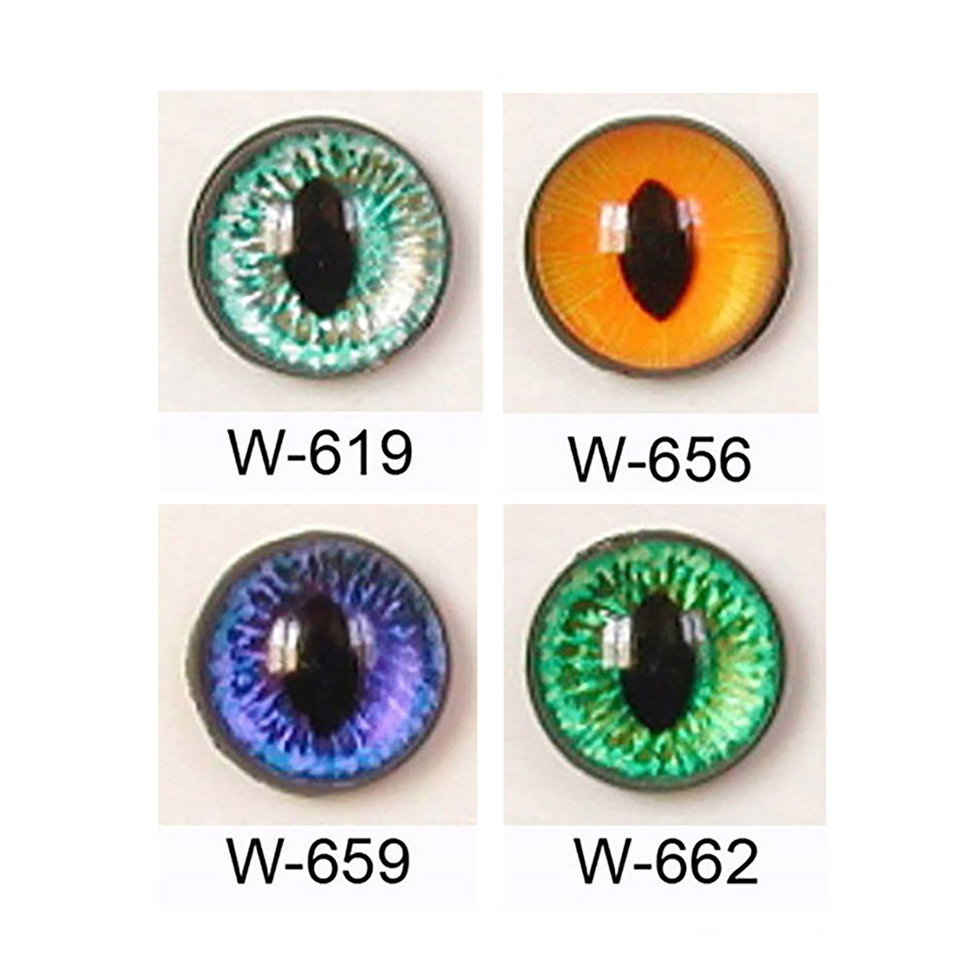 24mm Article W Plastic Safety Eyes Oval Pupils Plastic Washers Available In 4 Colours Teddy Bears Doll Cat Dragons Plush Toy Plushie Teddy Bear Doll Bear Doll Plush Toy