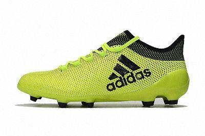 2018 FIFA World Cup Russia Adidas X 17 1 FG Green Black  35e43d7a376d