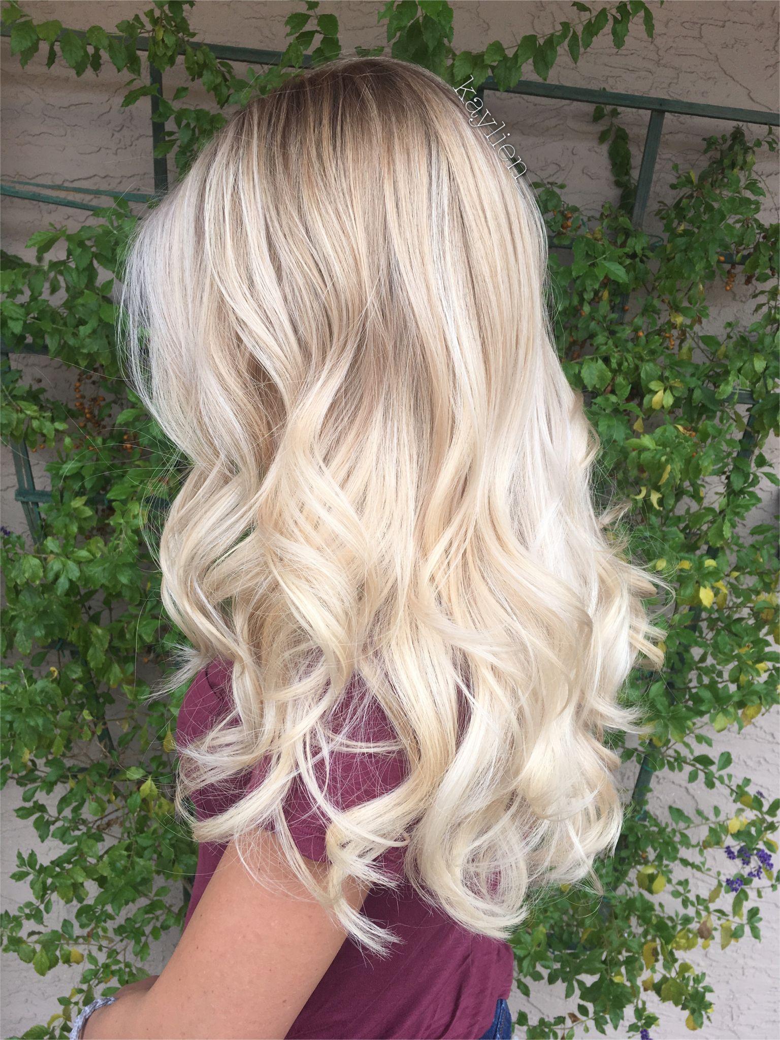 Blonde balayage on natural level 8 hair rnbjunkiex t…