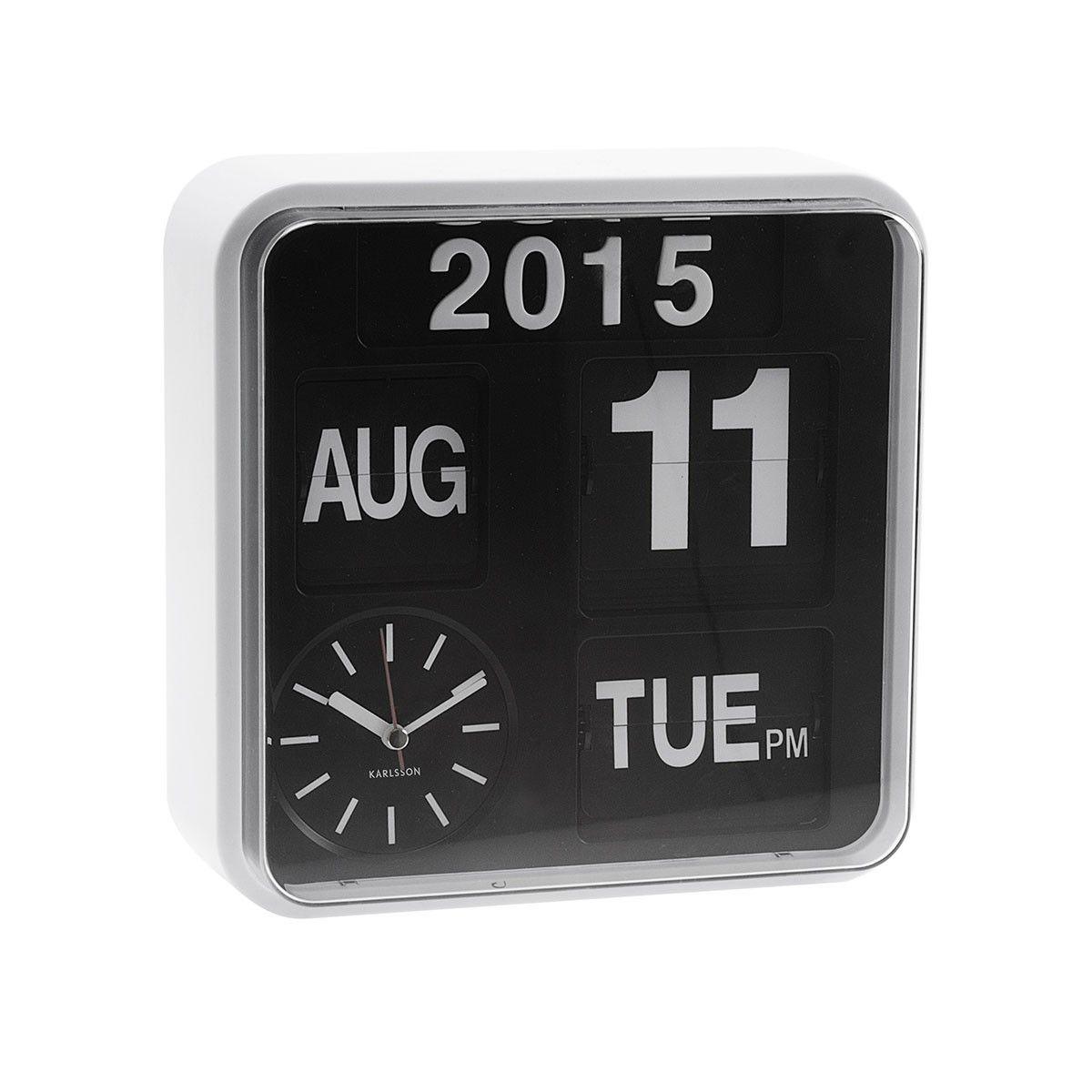 Karlsson Uhr die klappzahlenuhr ist ein echetr retro leckerbissen uhr tag
