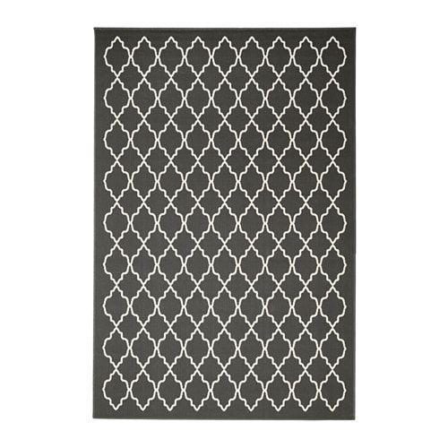 Hovslund Rug Low Pile Dark Gray Ikea Tapis Ikea Tapis Grands Tapis