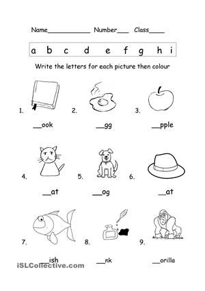 Phonics Activities For Esl Kindergarten