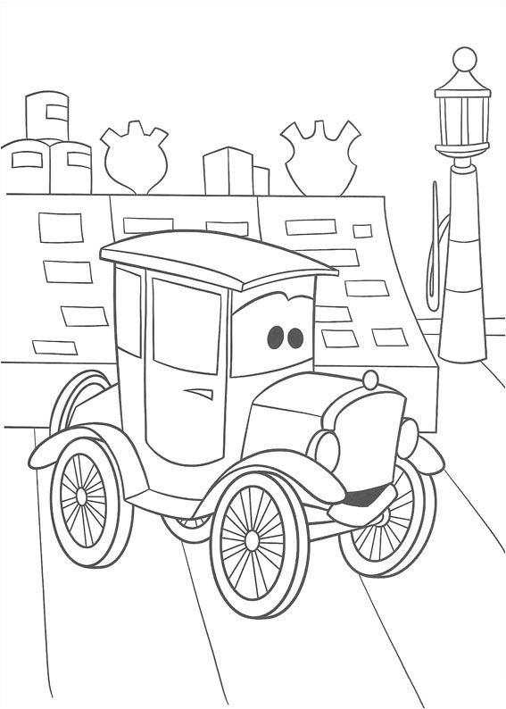 Disney Cars Coloring Pages - GetColoringPages.com | 794x567