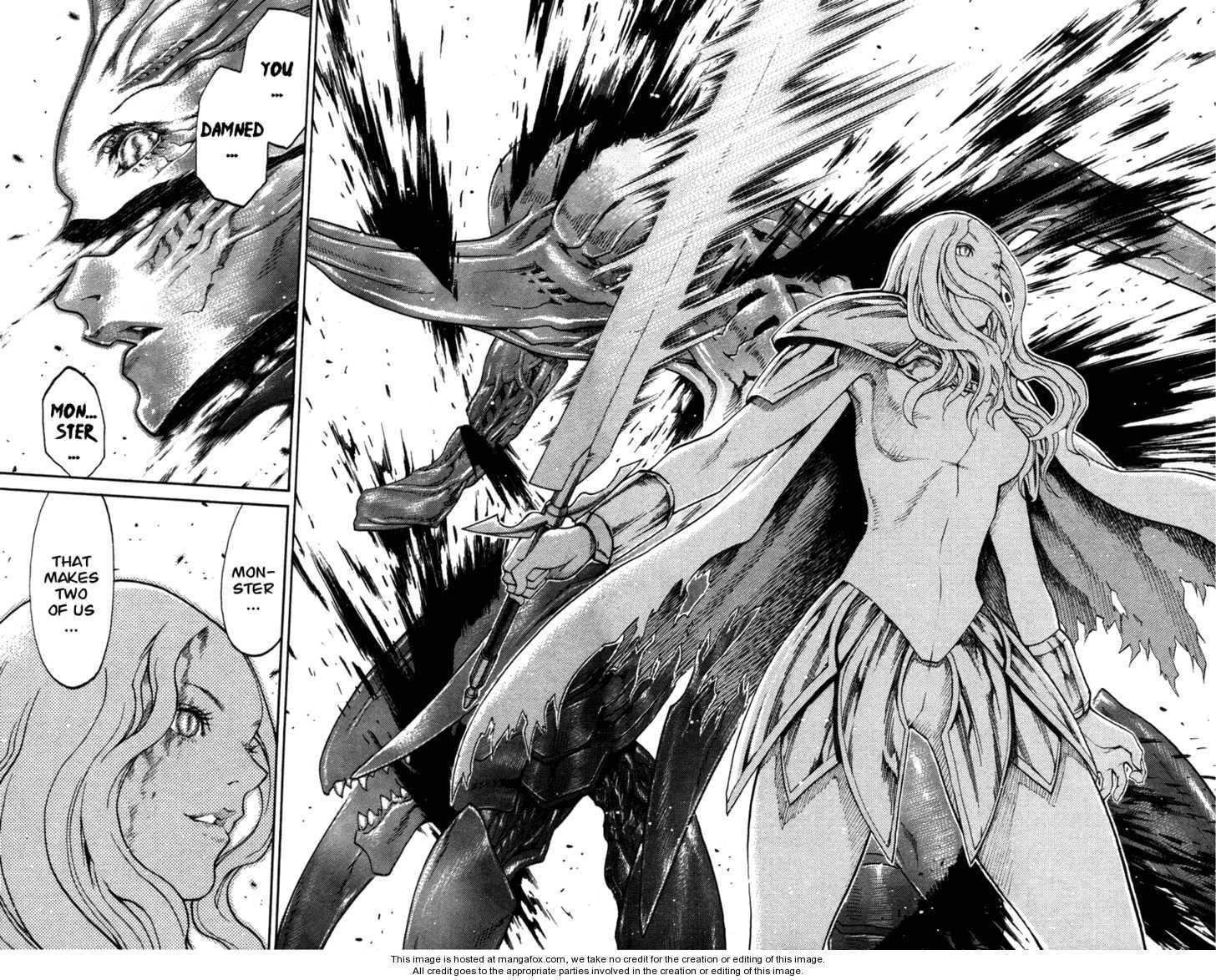 Claymore 73.1 Page 28 Claymore, Anime, Manga art