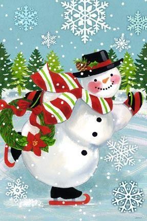SnowmanSkates 01of02 Vert JenniferBrinley