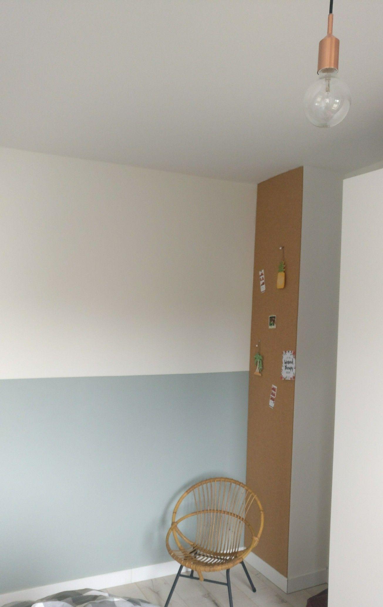 Flexa Early Dew Muurverf.Flexa Early Dew De Wand Links Achter Het Bureau Is De Warme Kleur