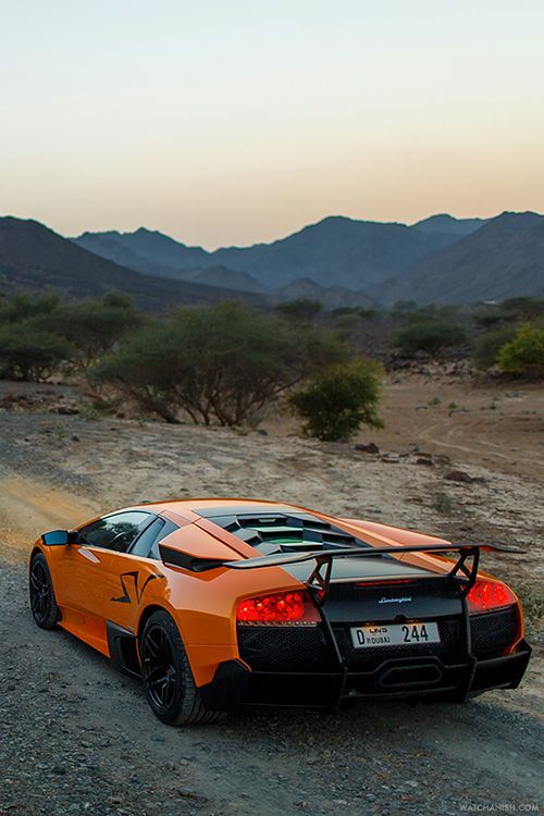 X Lamborghini Murcielago SV.