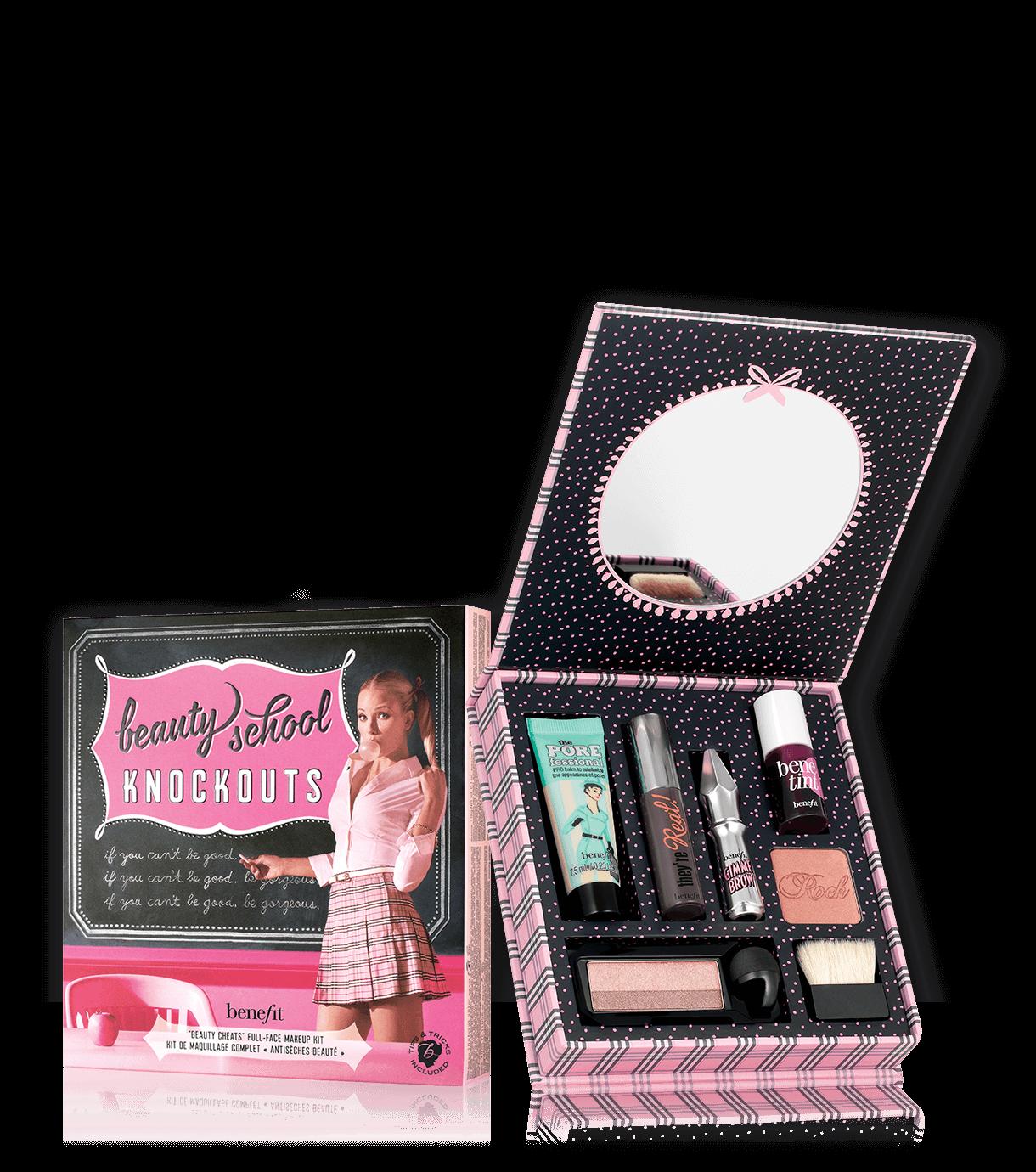 Beauty school knockouts Face makeup kit, Benefit