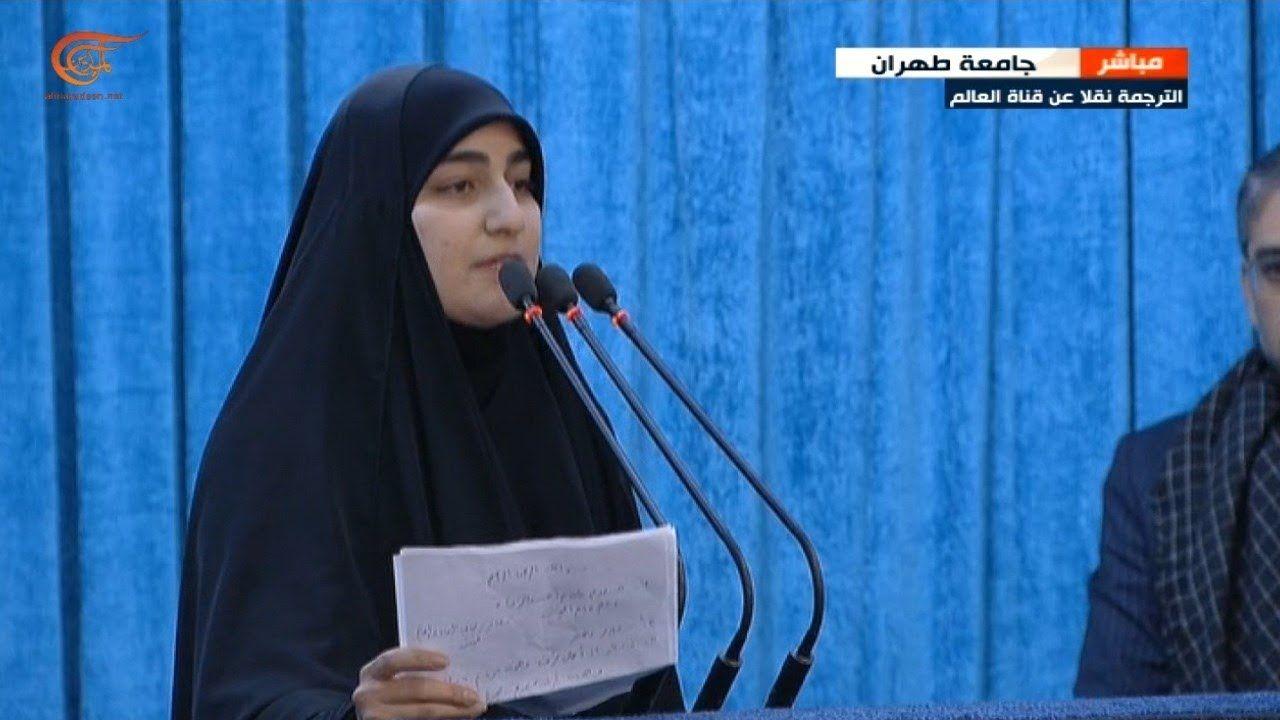 ابنة سليماني التشييع المليوني للشهداء في العراق وإيران رسالة واضحة لأميركا Alia Nuns Nun Dress