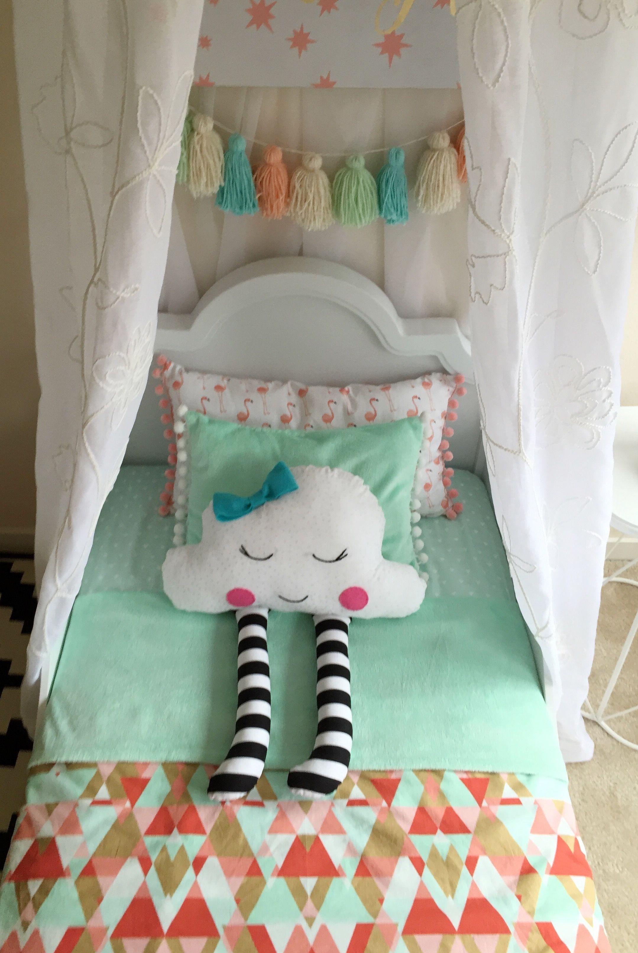 Interior design by Maya Ostrander Toddler bed custom toddler