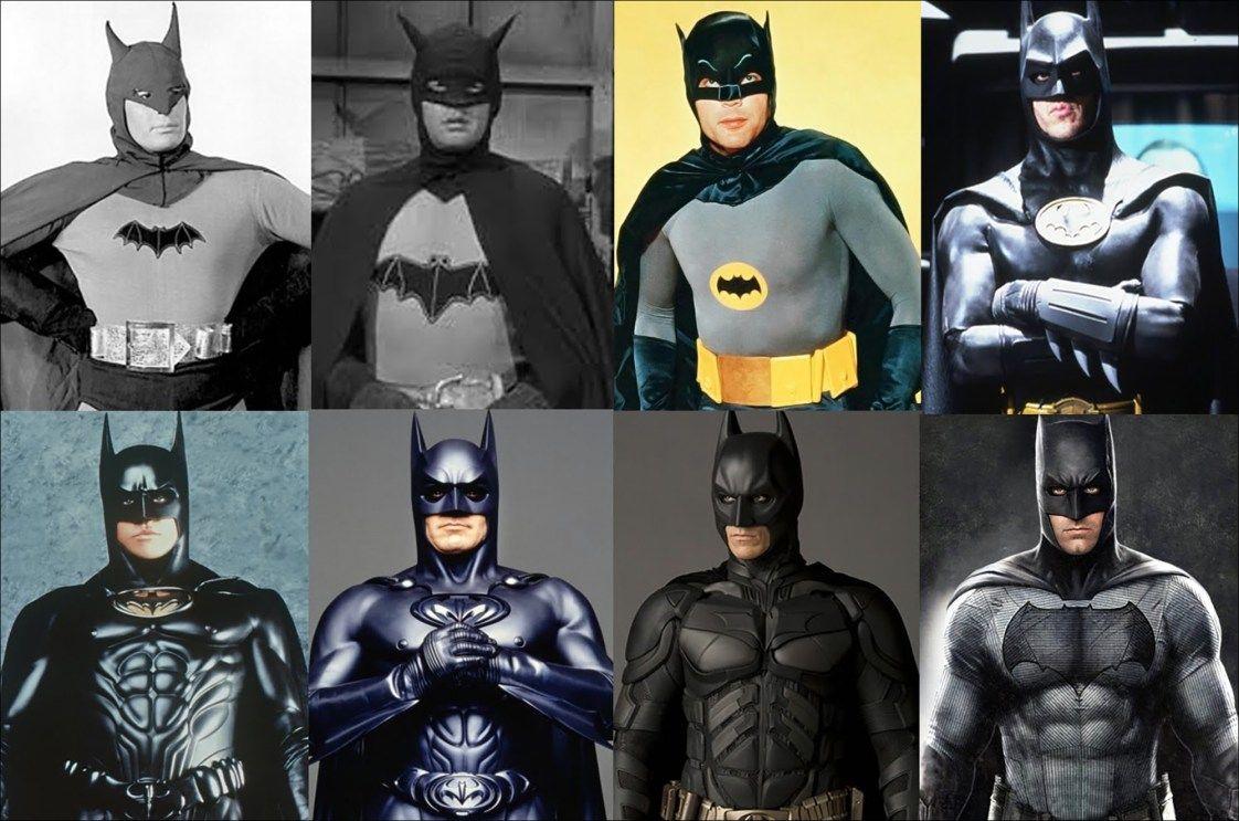 Alle Batman Schauspieler