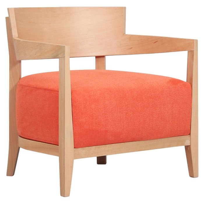 Volta Arm Chair in Orange Mad for Midcentury on Joss& Main For the Home Accent chairs