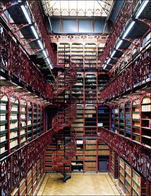 The Old Library of the Dutch House of Representatives in The Hague