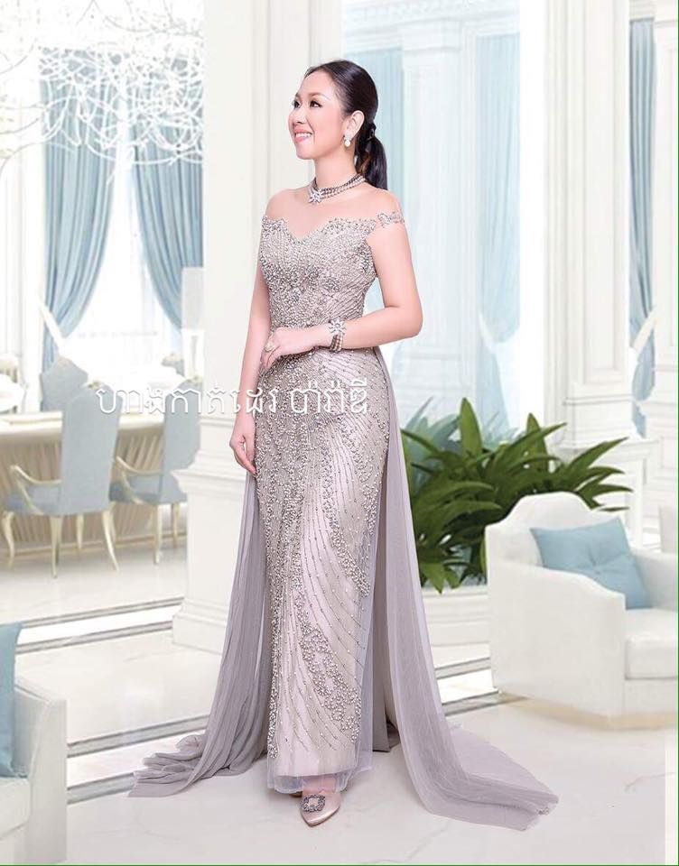 Cambodian Party Dress