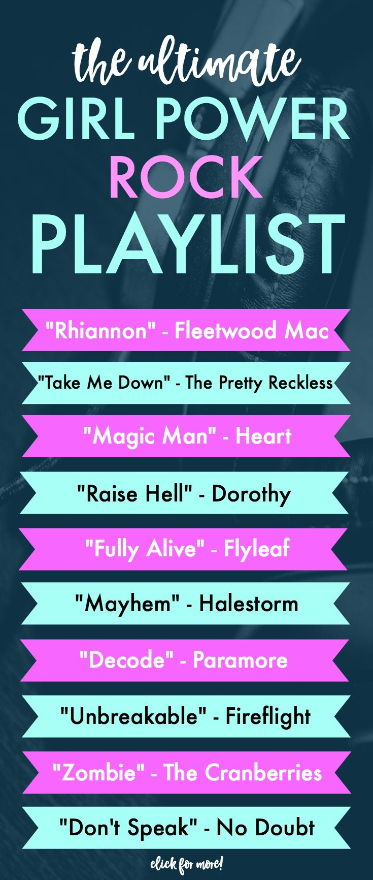 The Ultimate Rock Girl Power Workout Playlist Girl Power