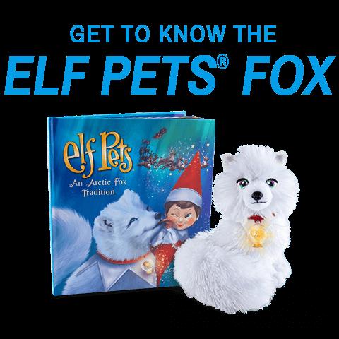 Arctic Fox Animated Special The Elf On The Shelf Elf Fun Elf Pets Elf Antics