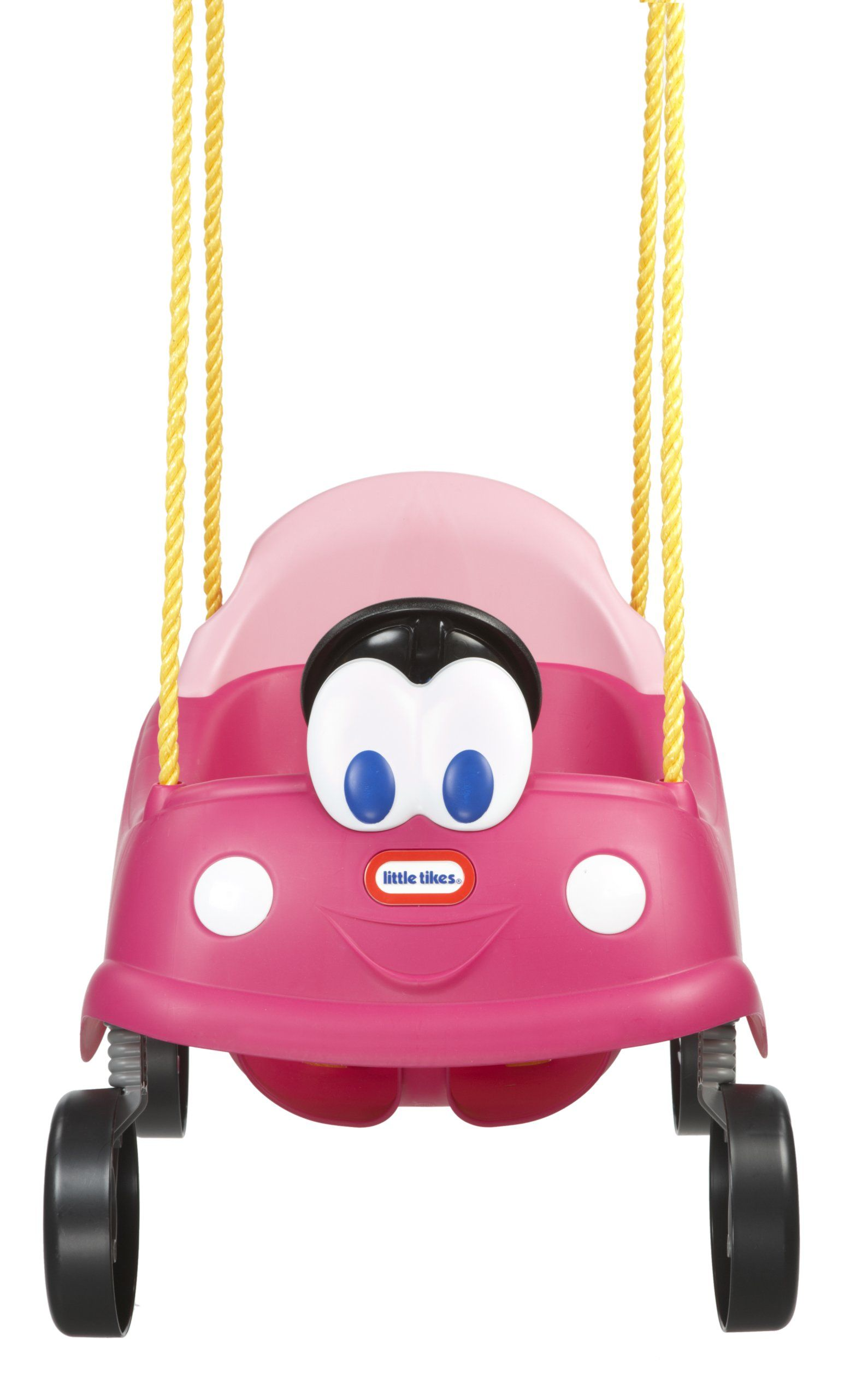 Little tikes princess cozy coupe first swing seat belt to keep baby