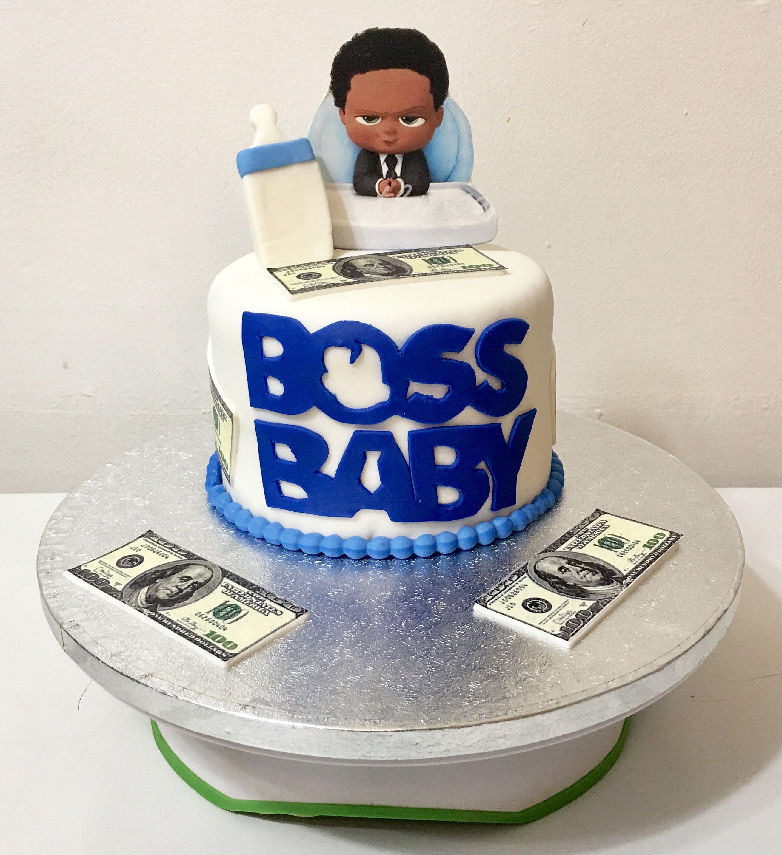 African American Boss Baby Cake Baby Birthday Cakes Boy