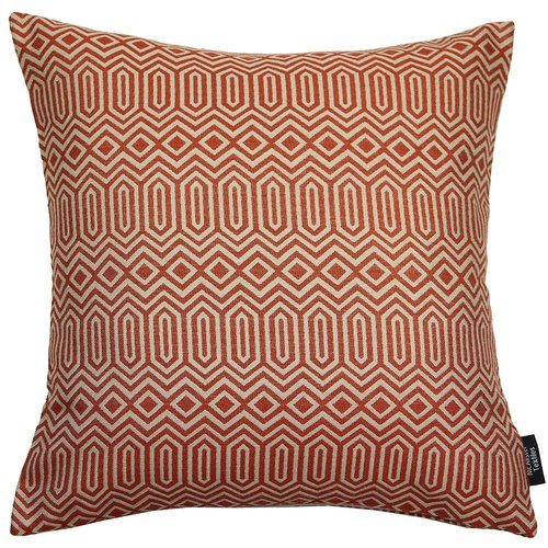 Plain Soft Terracotta Throw Pillow