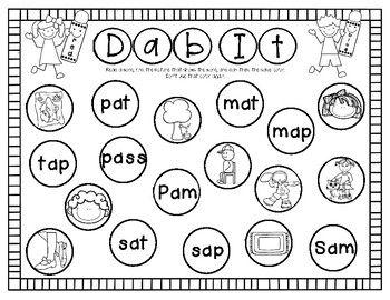 5 Blending & 2 Segmenting Activities A Kindergarten