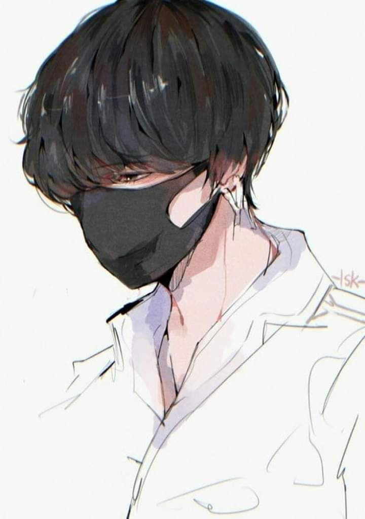 Mistress Doll E Chương 27 Taehyung Fanart Bts Drawings Anime Drawings Boy Artwork anime wallpaper sketch