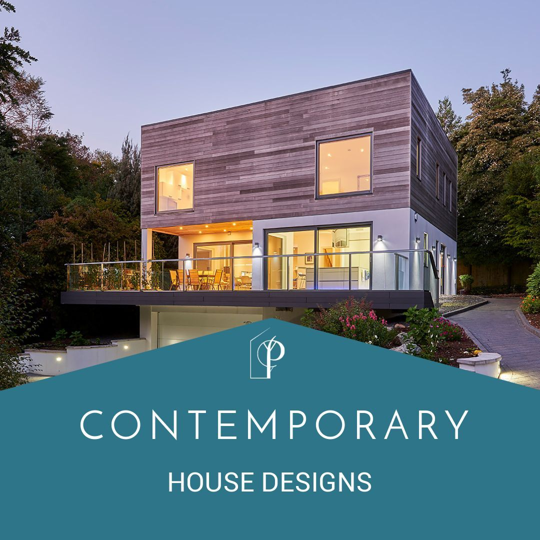 A selections of contemporary potton house designs