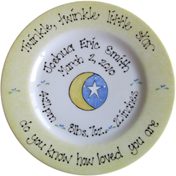 Baby gifts, Baby plates, Baptism gifts, Christening gifts ...