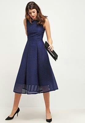 low priced 292bd efc53 Tfnc blu vestito cerimonia zalando | abiti | Vestiti ...