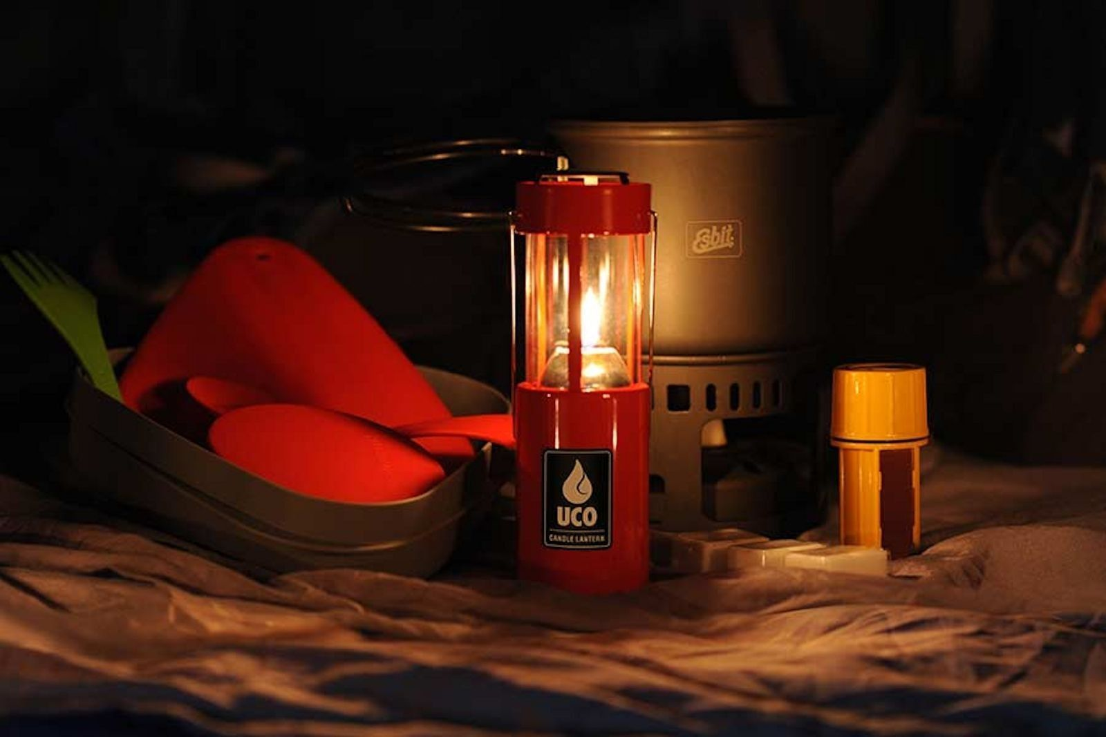 UCO 9 Hour Original Lantern Anodised D//L Kit Black