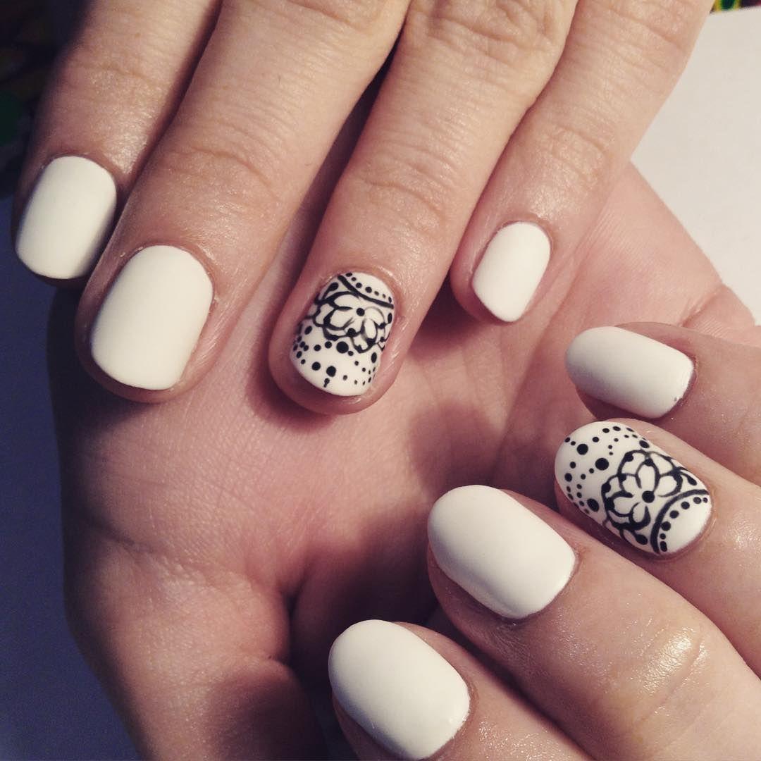Best White Nail Design for Women Arte De Uñas Blanco, Uñas Blancas, Diseños  De - Best White Nail Design For Women ||Fashion Universe|in 2018