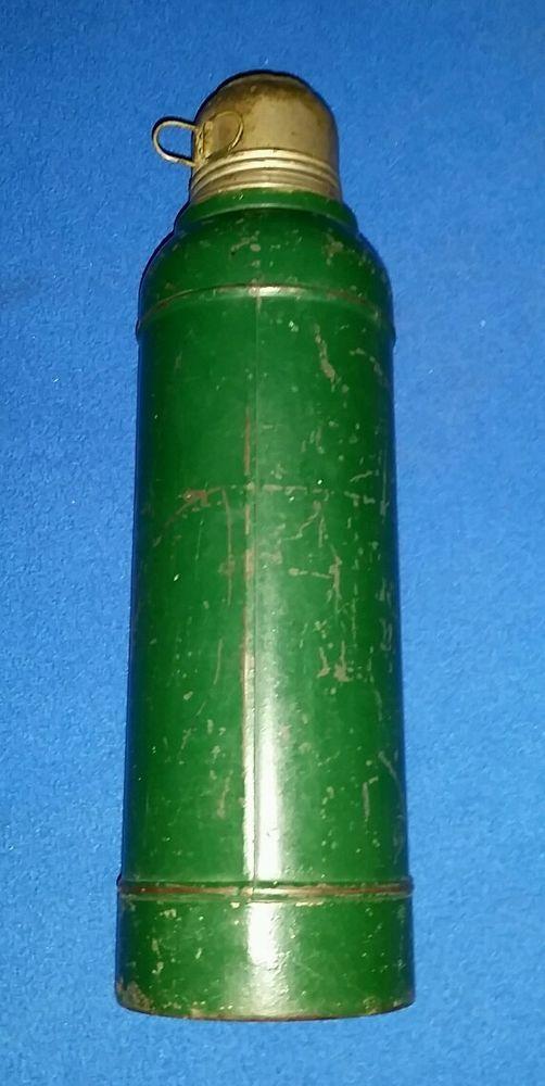 Vintage 1920\'s Stanley Steel Super Vac Vacuum Bottle Thermos A-38 ...
