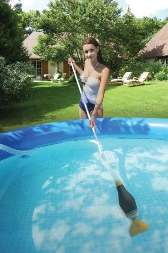 Kokido Skooba Vac Above Ground Swimming Pool Vacuum Cleaner For Intex Pools Review Https