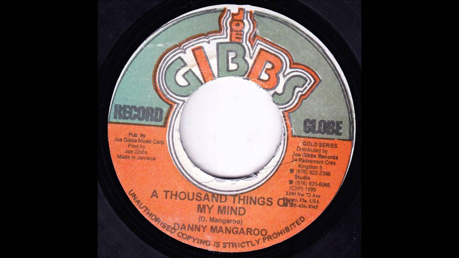 Danny Danny MangarooA Thousand Things On My Mind (Joe