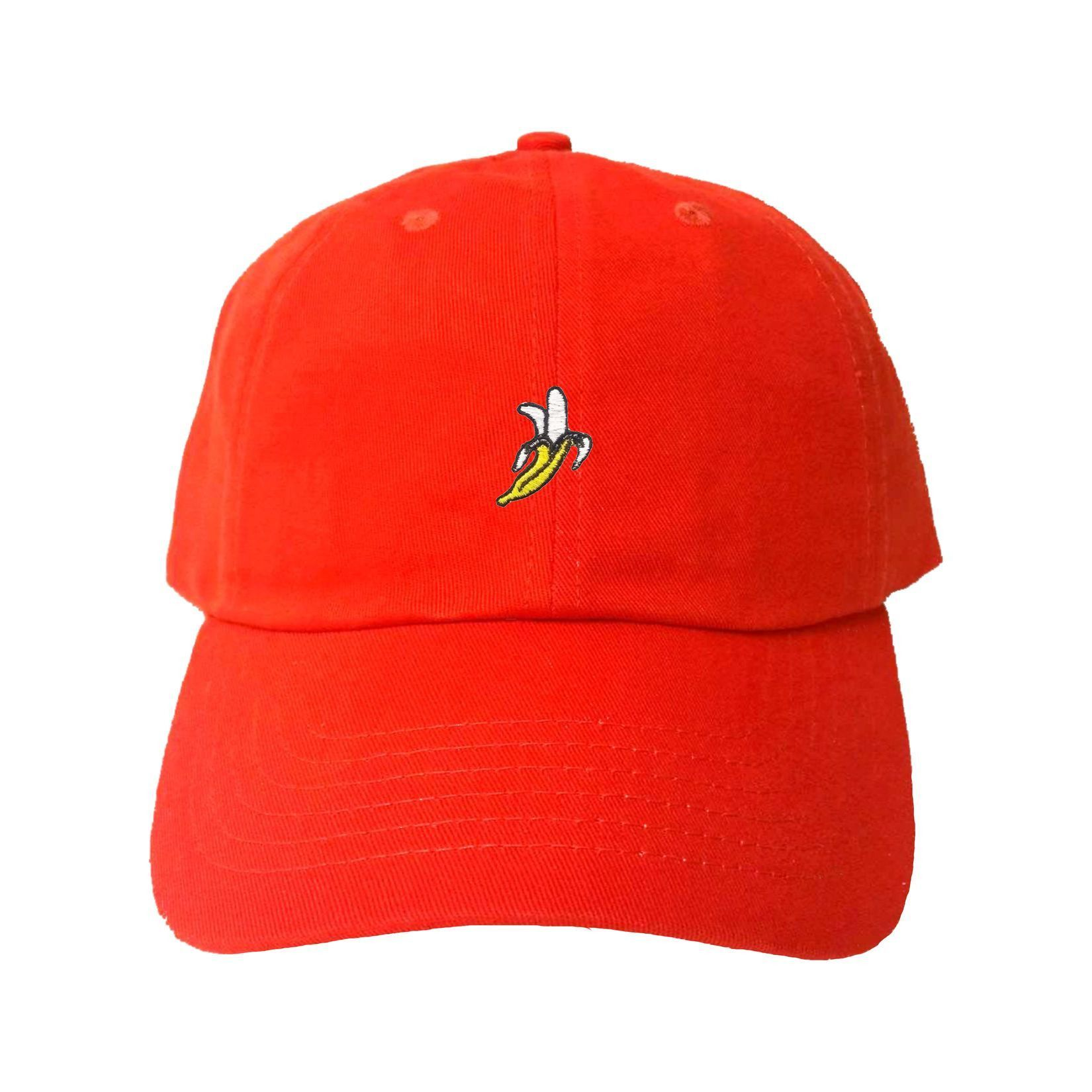 Adult Banana Embroidered Dad Hat Cap