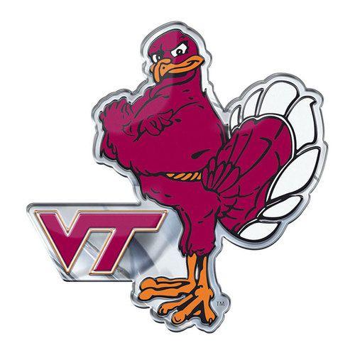 Virginia Tech Hokies Auto Emblem Color Alternate Logo ...