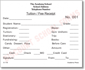 Student Progress Report Template Tuition Fee Receipt E Progress Report Template Progress Report Report Template