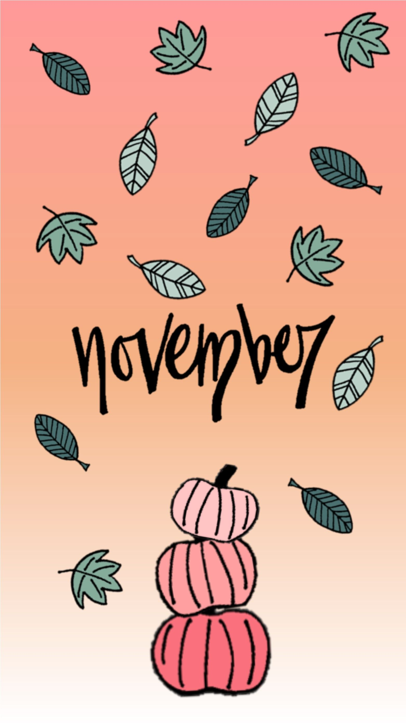 November Wallpapers for Mobile iPhone Android Mobile