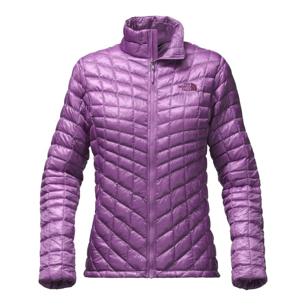 544d64444bcf The North Face ThermoBall Full Zip Jacket Women`s - Bellflower Purple
