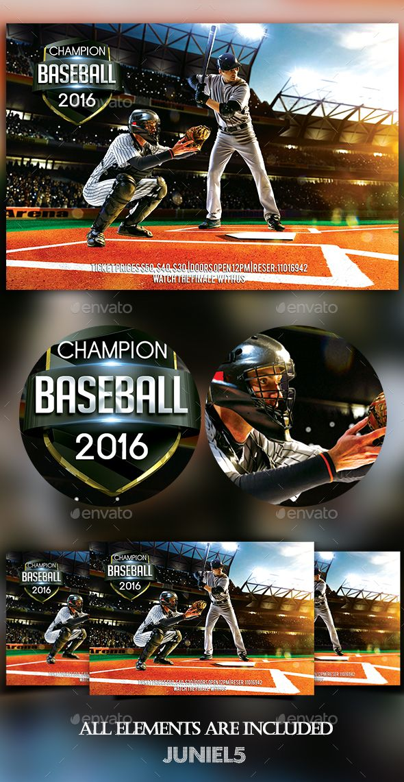 Baseball Flyer Design Template Sports Event Flyer Template PSD – Baseball Flyer