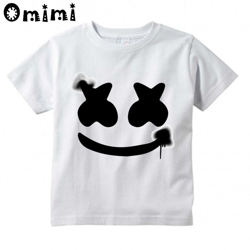 Boys Girls Dj Marshmello Design T Shirt T Shirt Dj Shirt Shirts
