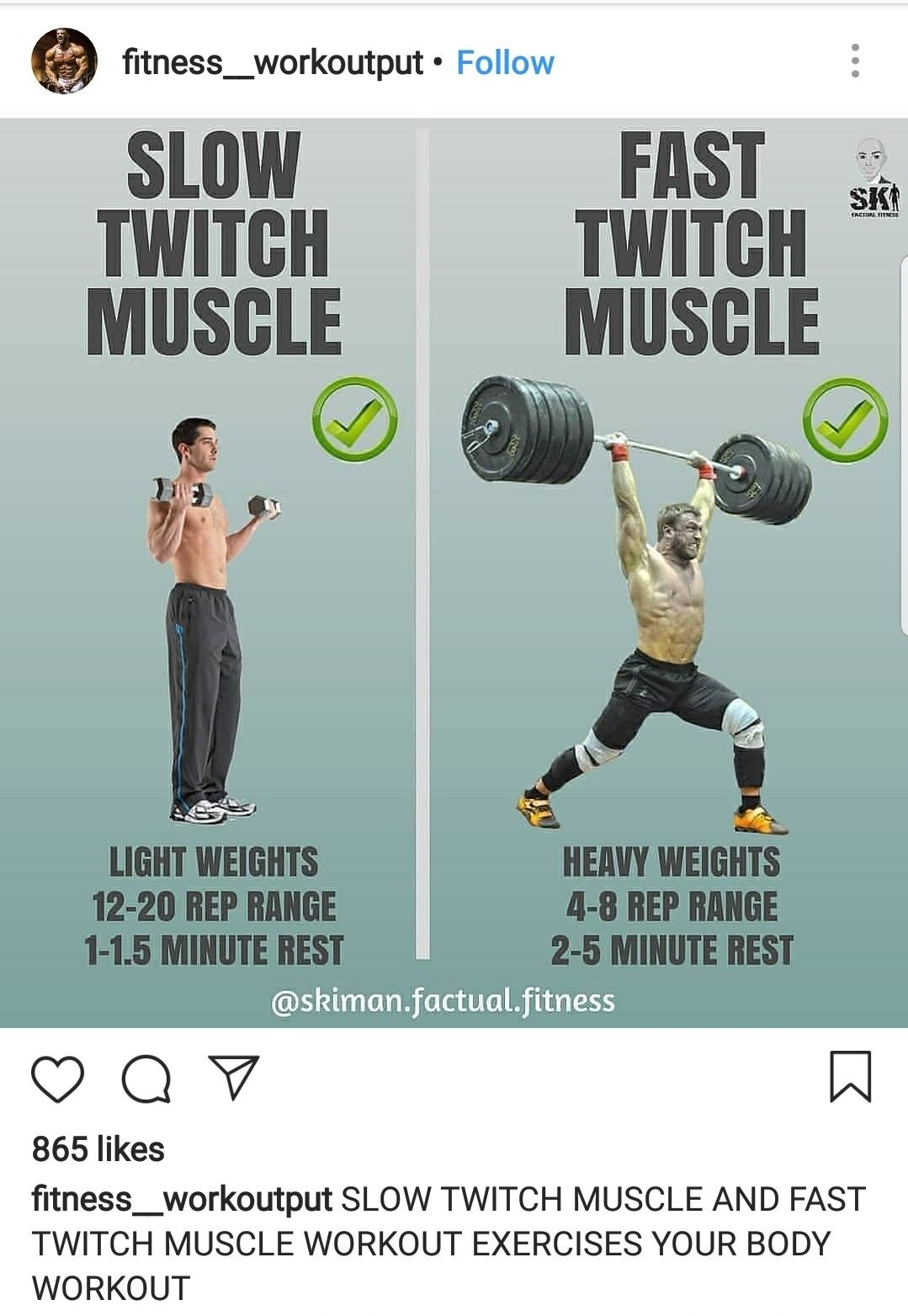 Slow Twitch Muscle Vs Fast Twitch Muscle | Fitness | Muscle