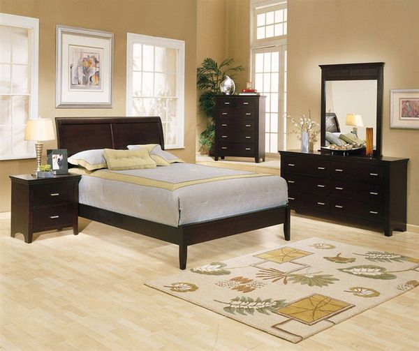 Dark Master Bedroom Furniture Master Bedroom Interior Design Ideas With Dark  Wooden Furniture