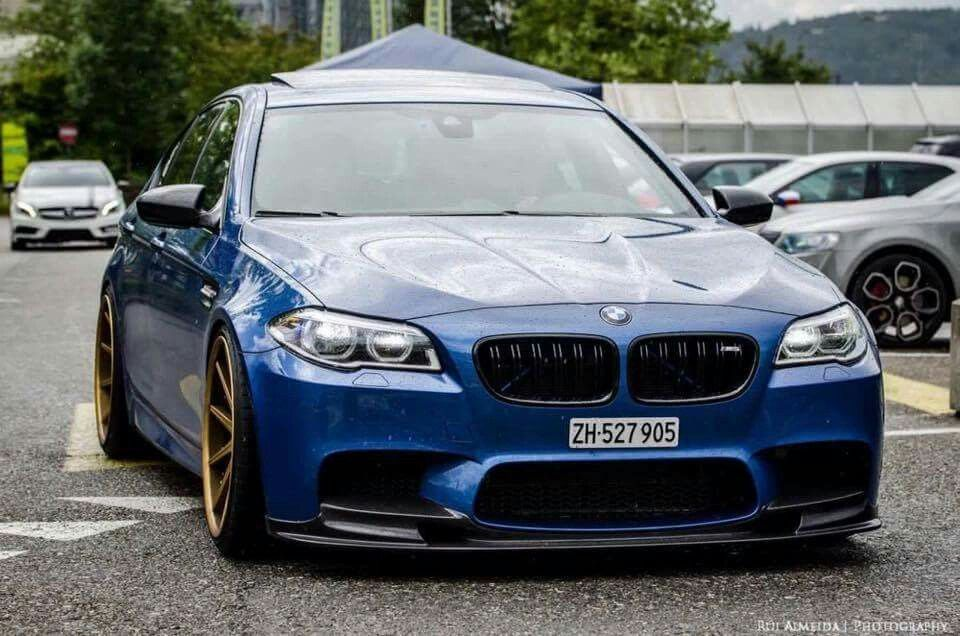 Bmw F10 M5 Blue Bmw Bmw Car Bmw M5 F10