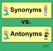 Synonyms And Antonyms From The Smart Exchange Belajar Bahasa Inggris Latihan Bahasa