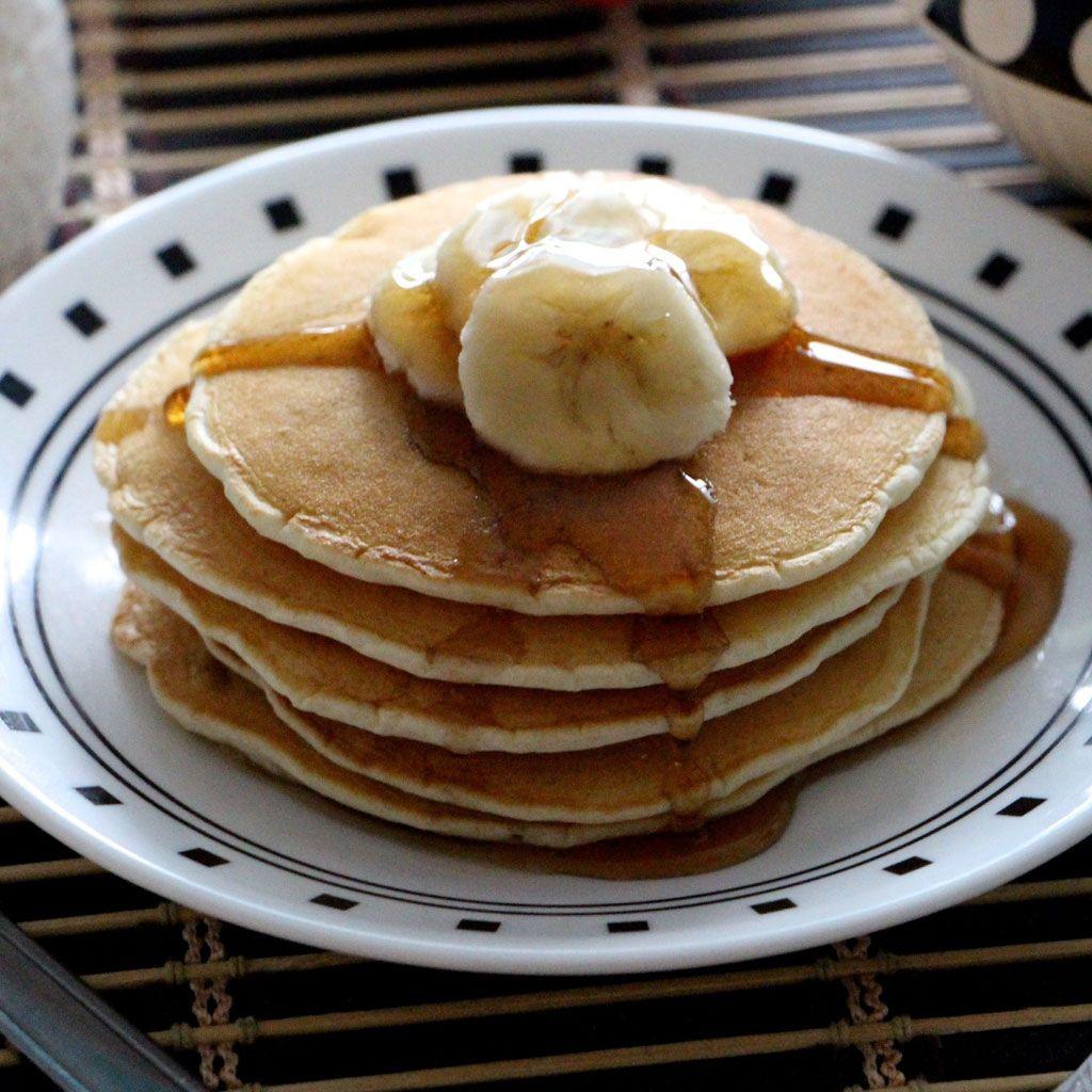 Les meilleures recettes de pancakes sans gluten - Elle à Table | Recettes No Gluten | Pancakes ...
